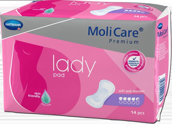 MoliCare Premium Lady Pad - 4-5 drops - 600