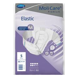 MoliCare Premium Elastic 8 Drops Size S (70-90cm) - Unisex